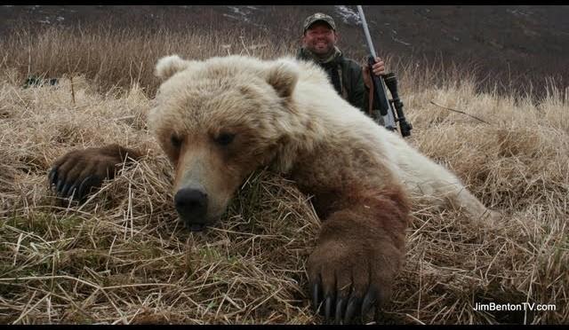Alaska Brown Bear Hunting with Jim Benton Chambered for the Wild