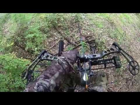 Bow hunting 10/3/15. First deer with a bow