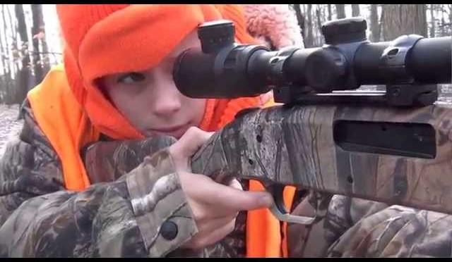 Brendan's First Buck – 2013 Michigan Whitetail Deer Hunt