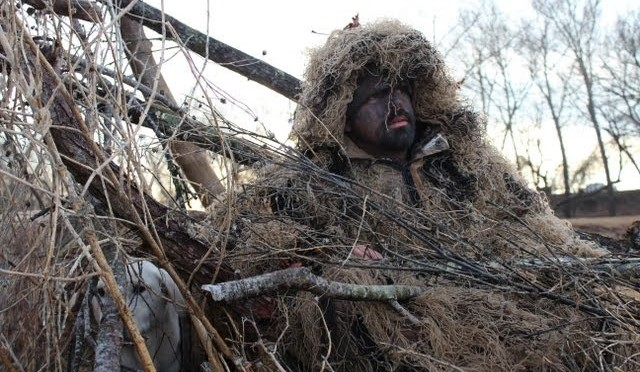 Lone Star Life: Texas Duck Hunting – Ghillie Suit Duck Hunt — On the river with Salty & Pete