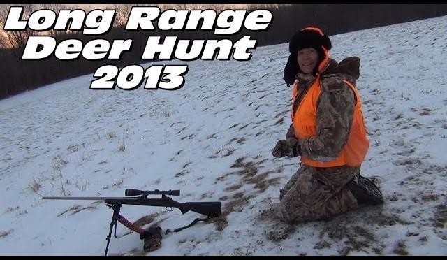 Long Range Whitetail Deer Hunting 2013 – Kim