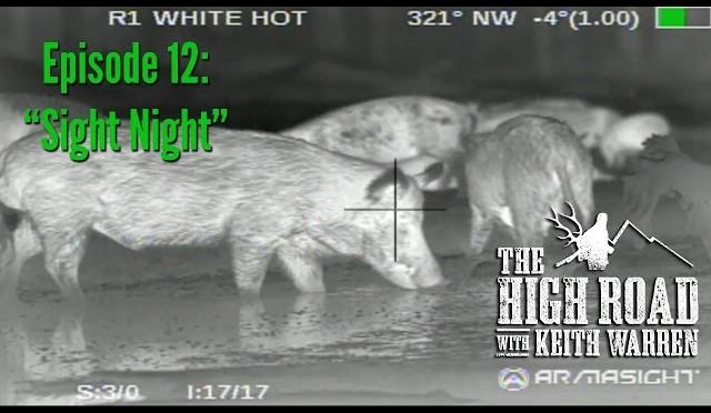 "Night Hog Hunting with Armasight NV & Thermal Gear – ""Sight Night"""