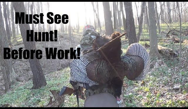 Turkey Hunting: Awesome Hunt Before Work!