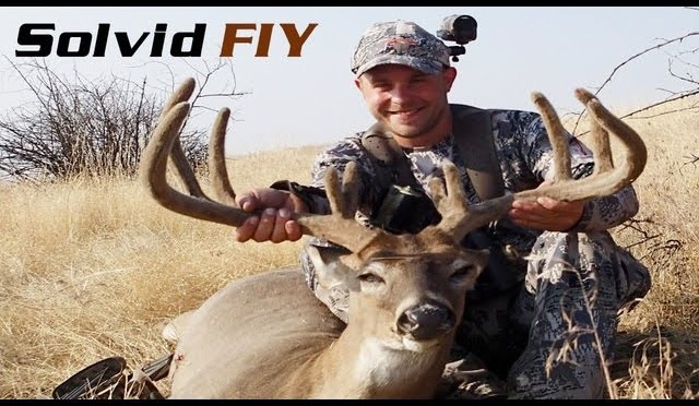 Wide Archery Whitetail Deer Hunting POV Video Spot and Stalk – The Ghost – Solvid FIY