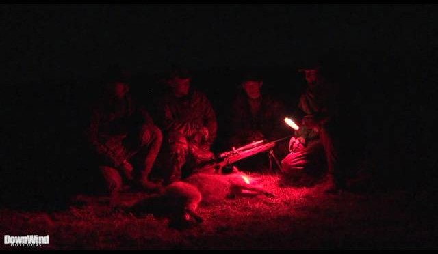 Coyote Hunting:  First Night Hunt (DownWind Outdoors)