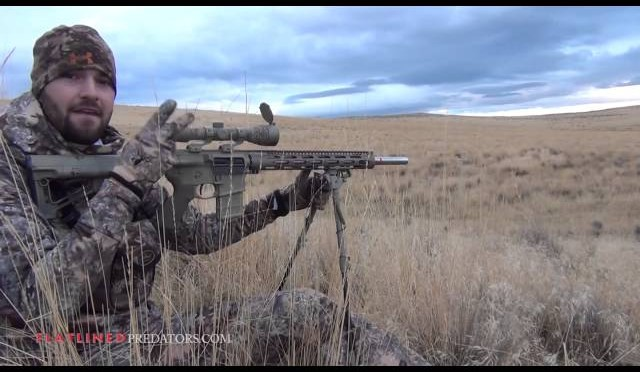 "Eastern Oregon Coyote Hunting ""Morning Mist"" – Flatlined Predators"