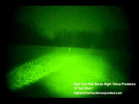 Night Vision Coyote Hunting – High Tech Red Necks Night Vision Predators II DVD