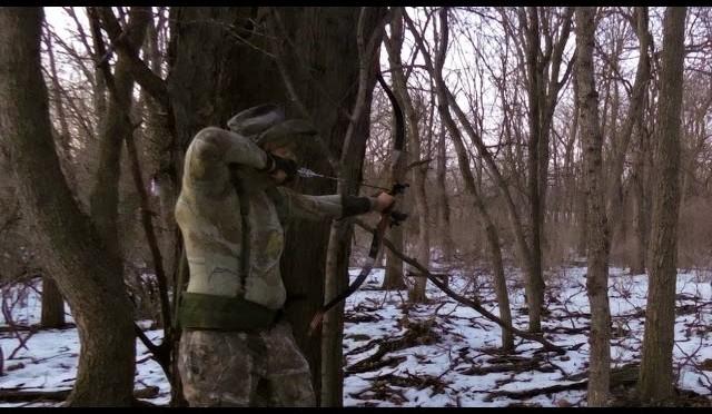 TGO Primitive Archery Coyote Hunting Adventure 1!