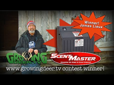 Announcing the 2014 ScentMaster Box Winner From GrowingDeer.tv