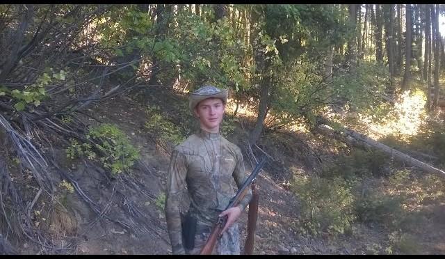 Idaho Sept. 2015 Muzzleloader Elk hunt with Big Davis.