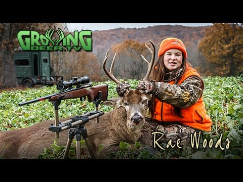 Perfect Combination For Deer Hunting:  Cold Weather and Rut Action!