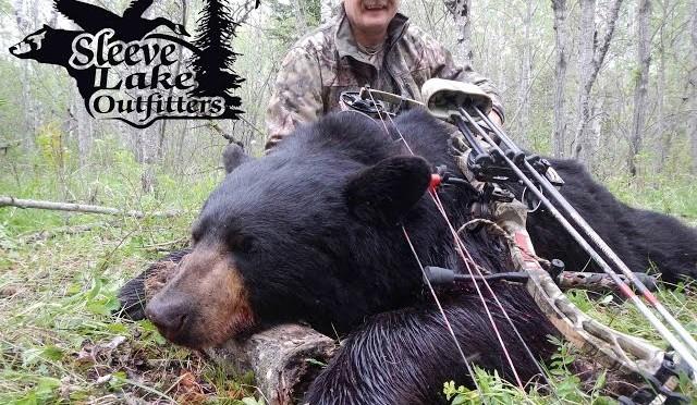 Sleeve Lake Outfitter Black Bear Promo