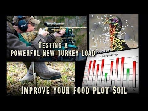 Turkey Hunting: Testing A New Turkey Load, 50 to 70 Yards?