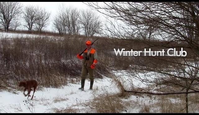 Winter Club Pheasant Hunting