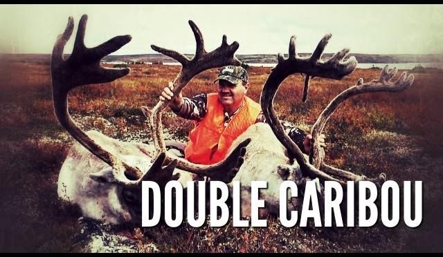Double Caribou Hunt   Cameraman's Turn