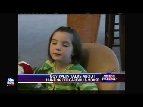 Governor Sarah Palin On Moose and Caribou Hunting