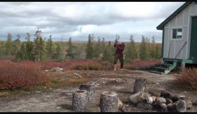 Hunting Caribou in Canada