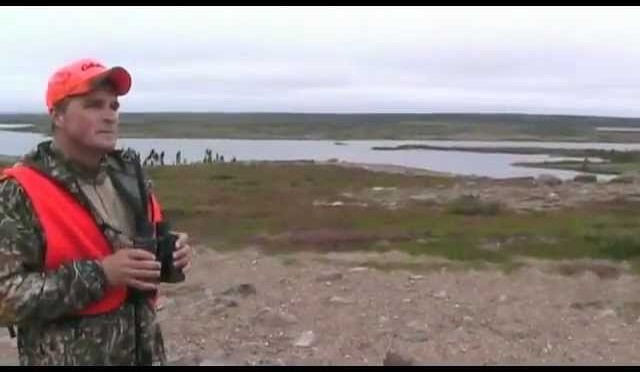Hunting caribou in Manitoba Canada 2011 Bulloch Lake – P2
