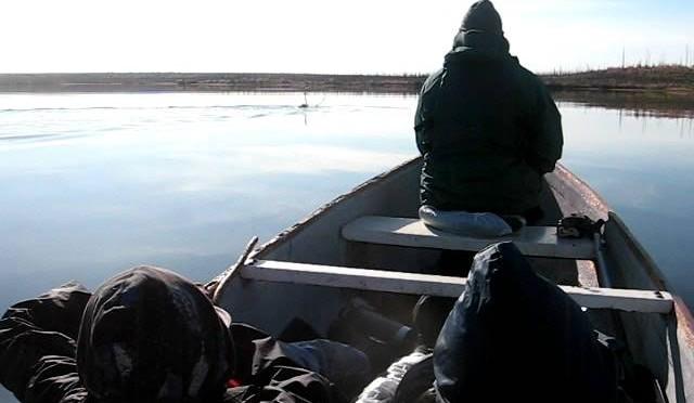 Kody Shooting a Caribou