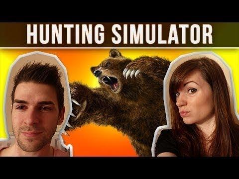 QUAND SKYYART DANSE AVEC UN CARIBOU – Hunting Simulator – Chelxie et Skyyart