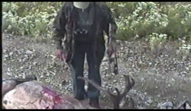 Woodland Caribou Bow Hunt 1990's