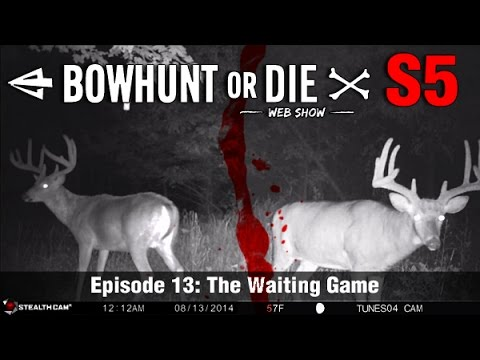 Bowhunt or Die Season 05 Episode 13: The Waiting Game