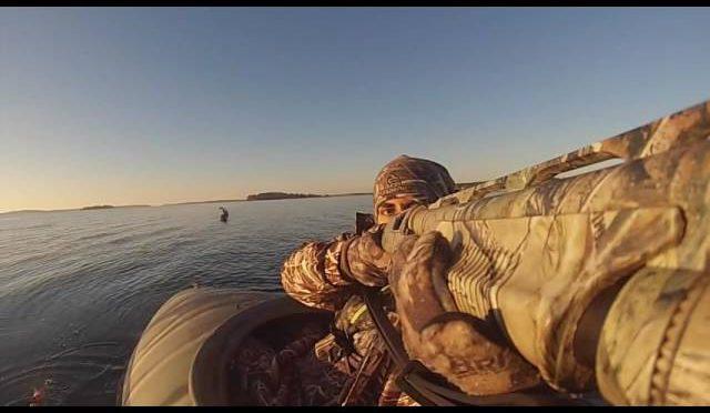 Maine Duck kill shots