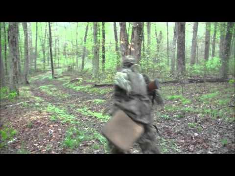 Youth Turkey Hunt 55 yard shot!!!