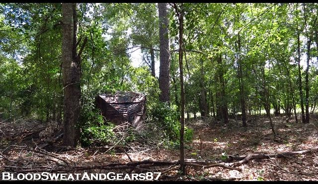 Setting Up Guide Gear Ground Blinds (Deluxe & Oversized) **SC DEER SEASON PREP 2016**