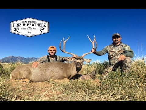 CHAD MENDES GIANT UTAH MULE DEER HUNT!!!