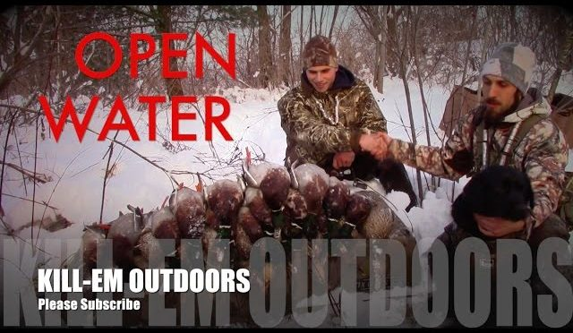 Duck Hunting Open Water Spring