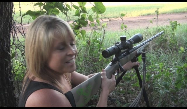 Michelle Guess Hog Hunting Stalk
