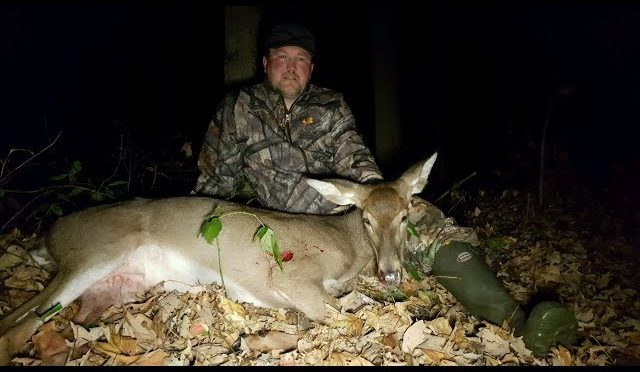 2017 Michigan early Archery Crossbow Deer hunting success
