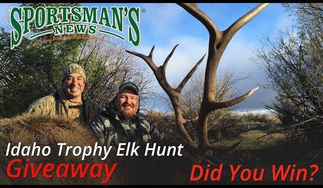 Pro Member Drawing for Idaho Trophy Elk Hunt