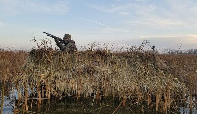 2018— DUCK HUNTING BOAT BLIND BUILD