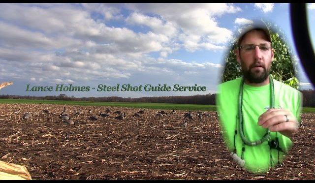 Goose Hunting Pro Tips – Lance Holmes #4 – Steel Shot Guide Service