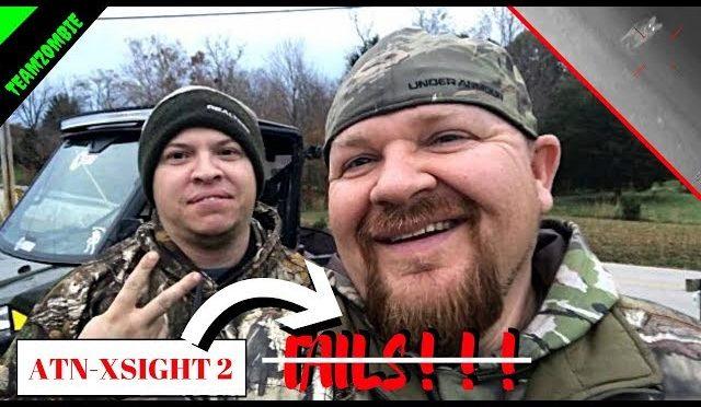 Atn xsight 2 -fails coyote hunting at night
