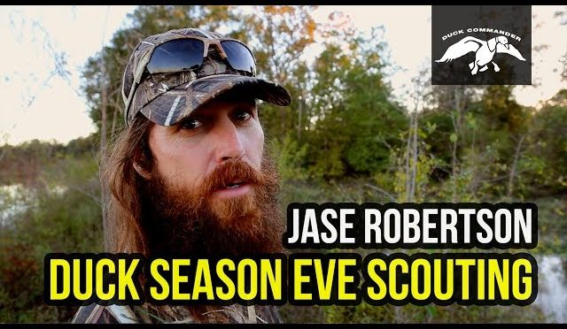 Scouting on Duck Season Eve with Jase Robertson FULL VIDEO