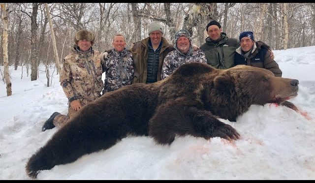 Bear Hunting In Kamtchatka – Russia with Ovini Expeditions 2018