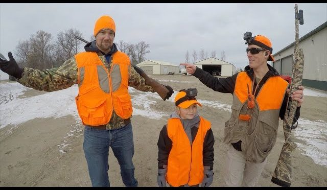 Pheasant Hunting & Tractor Trick Shot with MN Millennial ...
