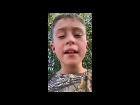 9 years old. Turkey hunt film buy his self