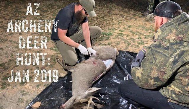 Arizona Archery Deer Hunt: Jan 2019