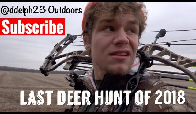 LAST DEER HUNT OF THE YEAR…
