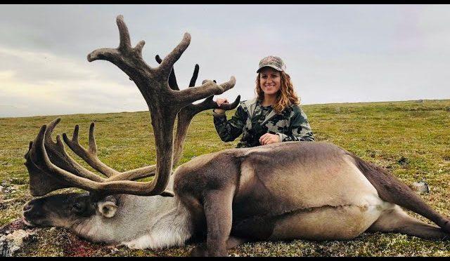Alaskan Woman Shoots Giant B&C Caribou – Stuck N the Rut 112