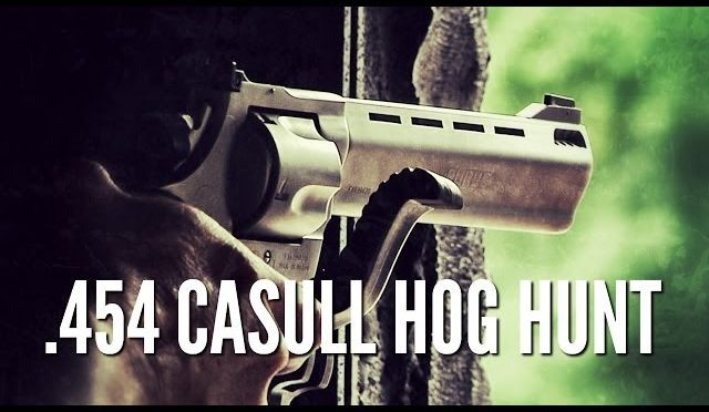 Hog Hunting with .454 Casull Taurus Raging Bull