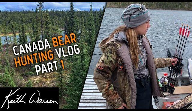Canada Bear Hunting Trip Part 1   VLOG