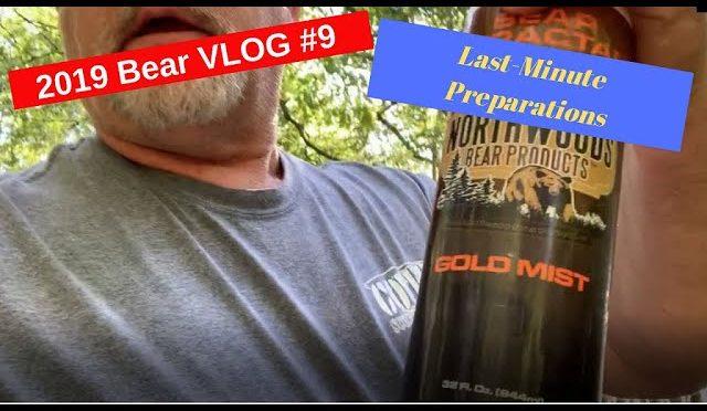 Bear Hunting Vlog #9