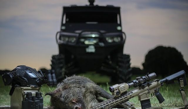 Friday the 13th Texas Hog Hunt with Thermals and NODS