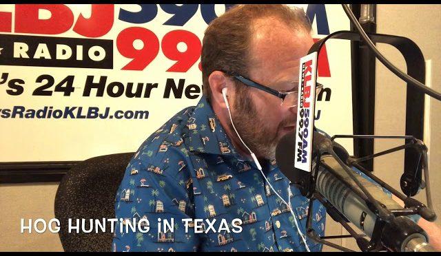 Hog Hunting in Texas