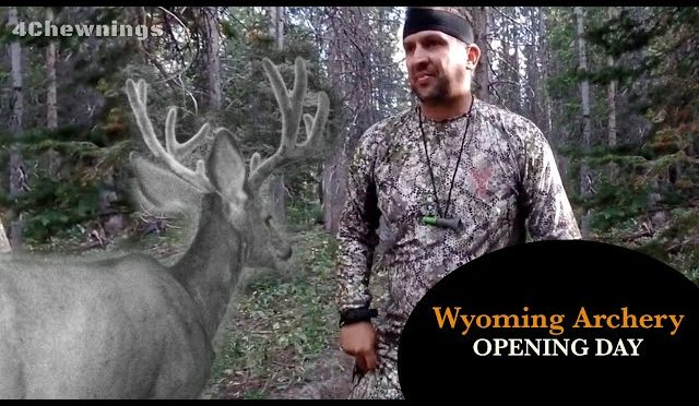 Wyoming Archery Opening Day Hunt | Big Mule Deer | I Messed Up My Chance